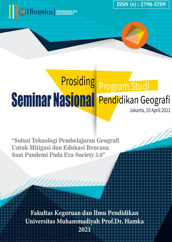 View Vol. 1 No. 1 (2020): Prosiding Seminar Pendidikan Geografi UHAMKA