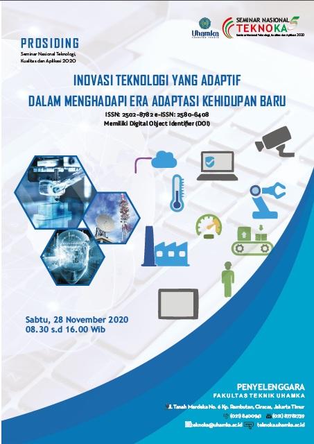 View Vol. 5 (2020): Prosiding Seminar Nasional Teknoka ke - 5